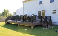Composite Deck with LED Lighting